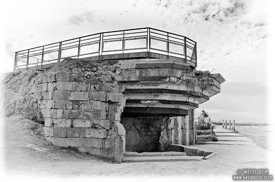 German Bunker 8     Black and white Photography by Wayne Heim