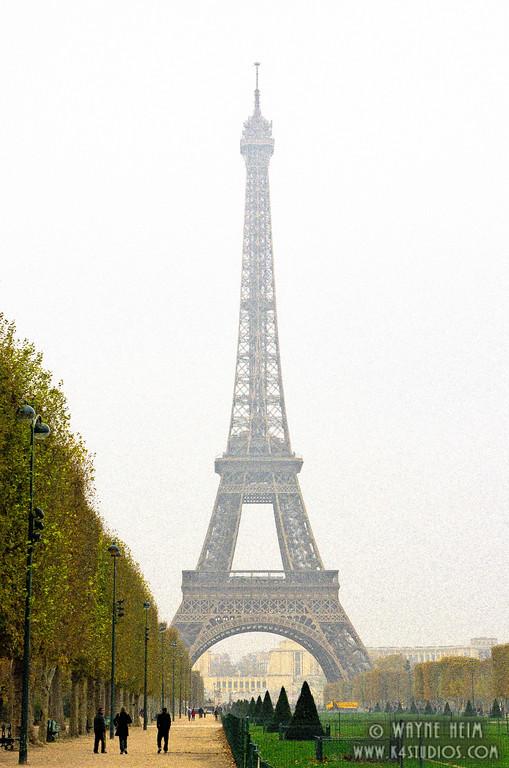 """Misty """"Eiffel - Photography by Wayne Heim"""