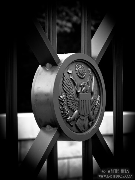 US Seal    Black and White Photography by Wayne Heim