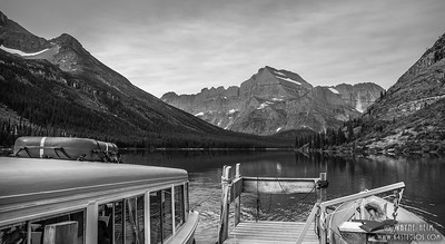 Swift Current Lake - Black & White Photography by Wayne Heim