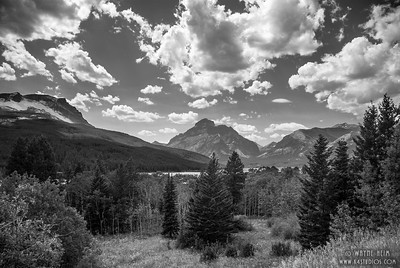 Distant Mountains  - Black & White Photography by Wayne Heim