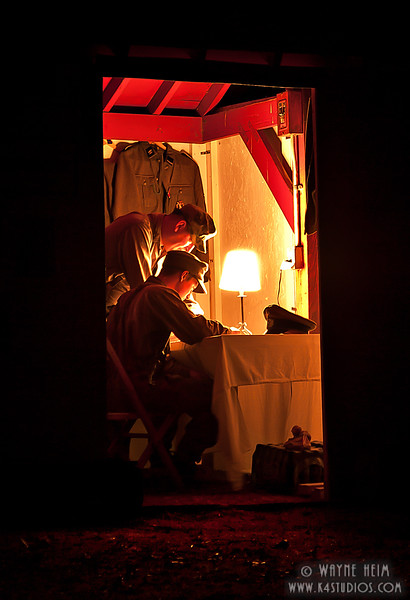 Night Time Planning - photography by Wayne Heim