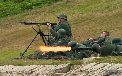 German Defensive Position   Photography by Wayne Heim