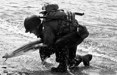 First Man Landing   Photography by Wayne Heim