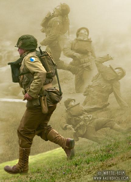 War Collage   Photography by Wayne Heim