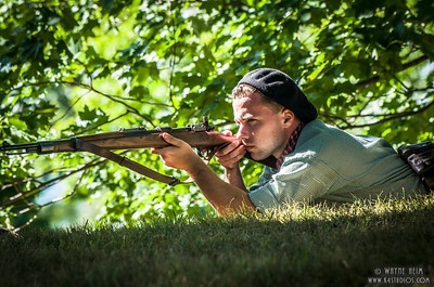 Taking Aim   Photography by Wayne Heim