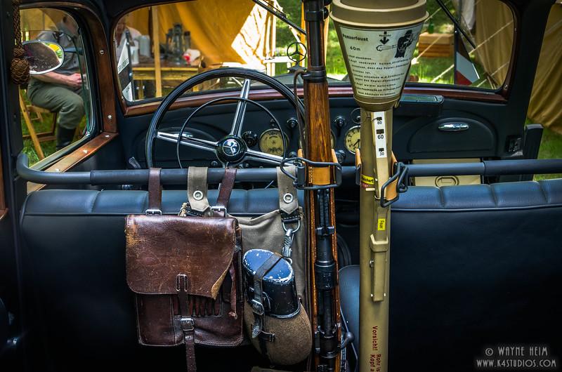 WWII Military Car   Photography by Wayne Heim