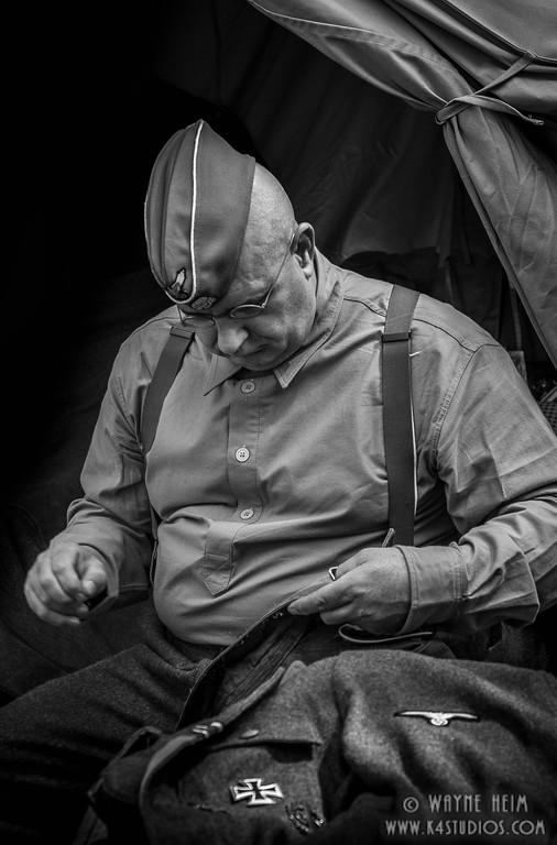 Checking Adornments       Photography by Wayne HeimWayne Heim