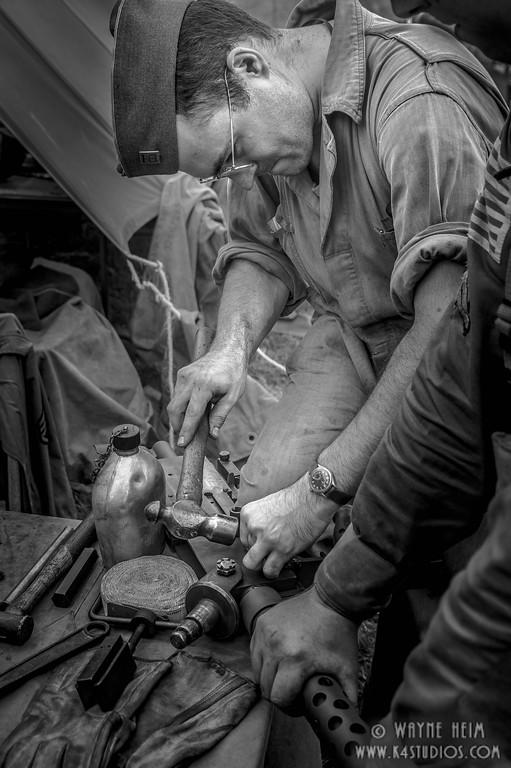 Gun Repair   Photography by Wayne Heim