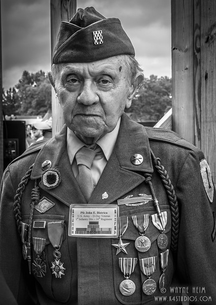 Highly Decorated PFC   Photography by Wayne Heim
