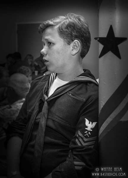Sailor Boy     Photography by Wayne Heim