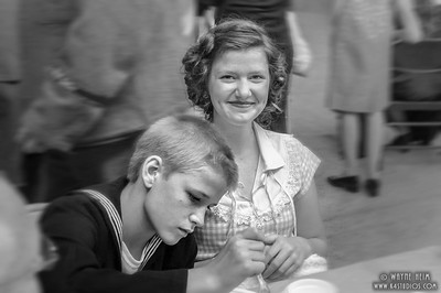 Mother & Son  Photography by Wayne Heim