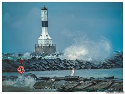 Conneaut Lighthouse   Photography by Wayne Heim