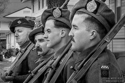 Commonwealth Soldiers    Black & White Photography by Wayne Heim