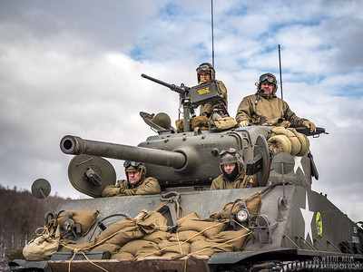 Tank Crew    Photography by Wayne Heim