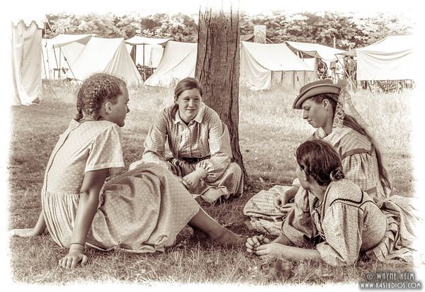 Youngsters in Camp   Photography by Wayne Heim