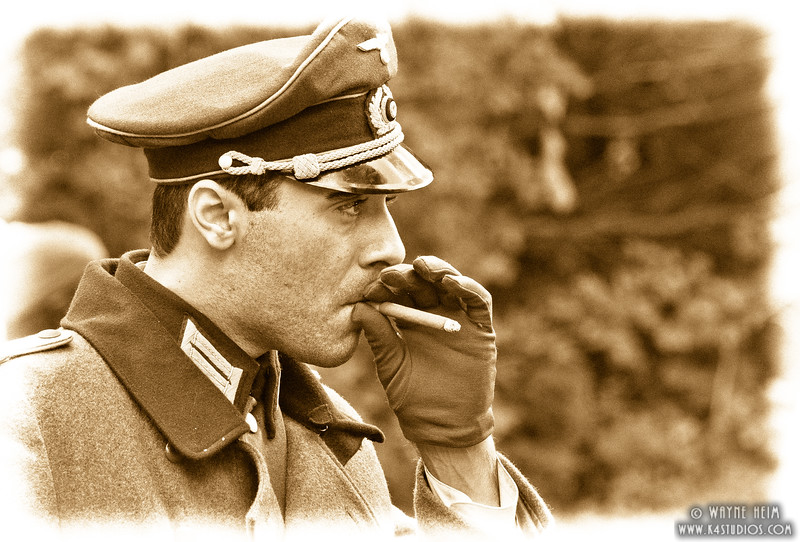 Having a Smoke    Photography by Wayne Heim