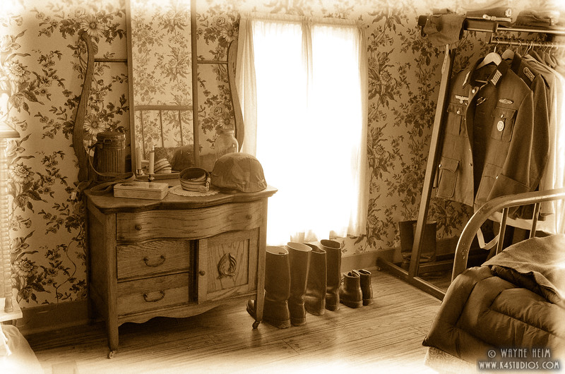 Officer's Quarters    Photography by Wayne Heim