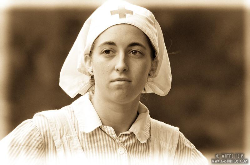 Portrait of A Nurse    Photography by Wayne Heim