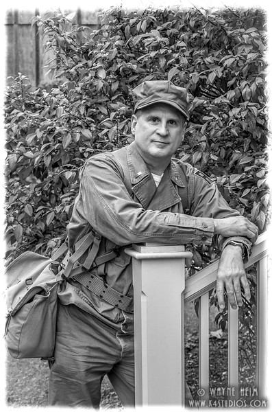Portrait of JK   Black & White  Photography by Wayne Heim