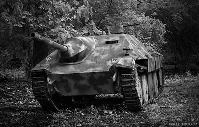 Tank    black & White Photography by Wayne Heim