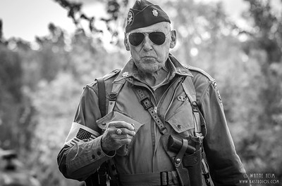 Portrait of a Soldier   Black & White Photography by Wayne Heim