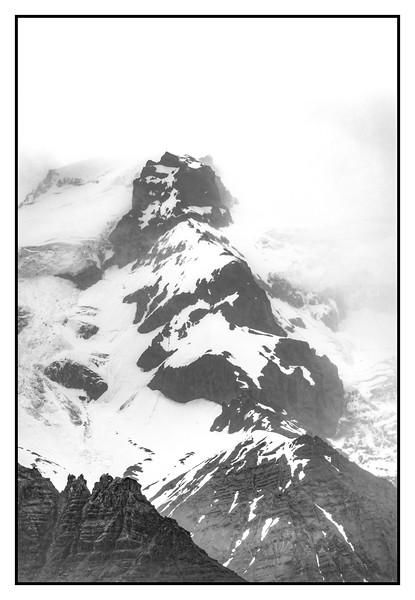 Snow on Vesturhorn   Black and White Photography by Wayne Heim