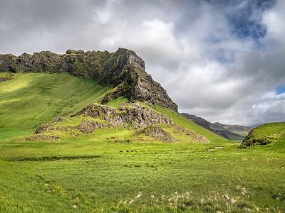 Iceland Black on Green   Photography by Wayne Heim