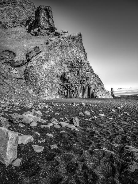 Black Beach      Black & White Photography by Wayne Heim
