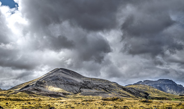 Small Mountain in Iceland   Photography by Wayne Heim