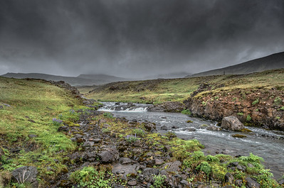 Trout Stream in Iceland  Photography by Wayne Heim