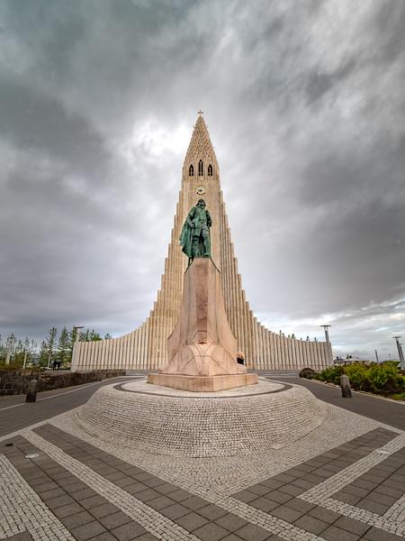 Reykjavik Landmark   Photography by Wayne Heim