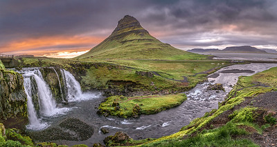Kirkjufell and Falls   Photography by Wayne Heim