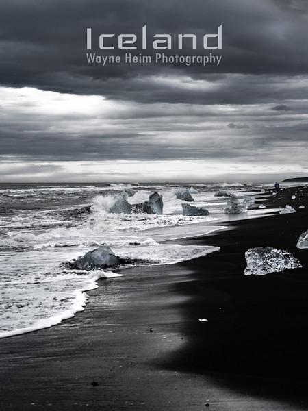 Coastline  Black and White Photography by Wayne Heim