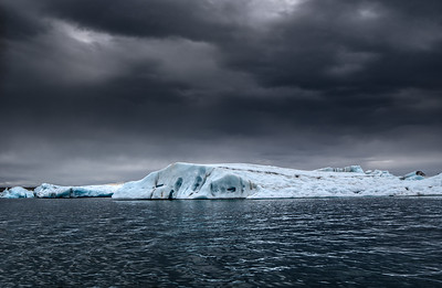 Floating Ice   Photography by Wayne Heim