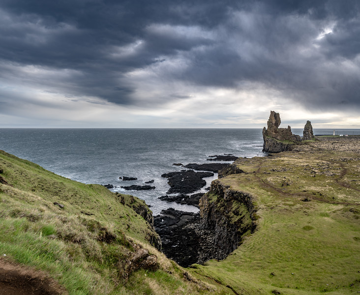Rugged Coast of Iceland  Photography by Wayne Heim
