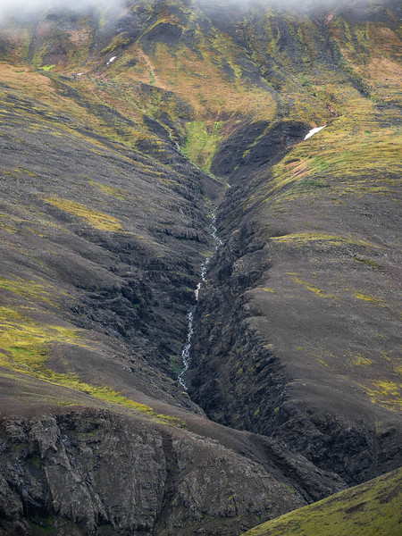 Aerial Glacial River   Photography by Wayne Heim