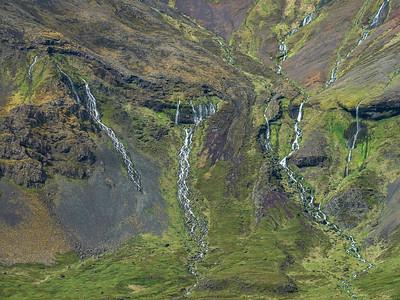 Waterfall Fingers  Photography by Wayne Heim