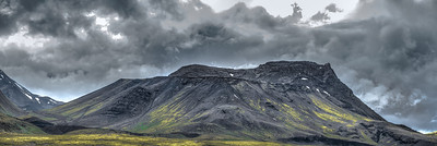 Coal Mountain - Iceland    Photography by Wayne Heim