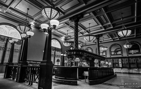 Crown Bar - Black & White Photography by Wayne Heim