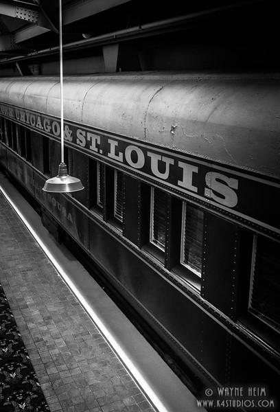 Chicago Bound --Black & White Photography by Wayne Heim