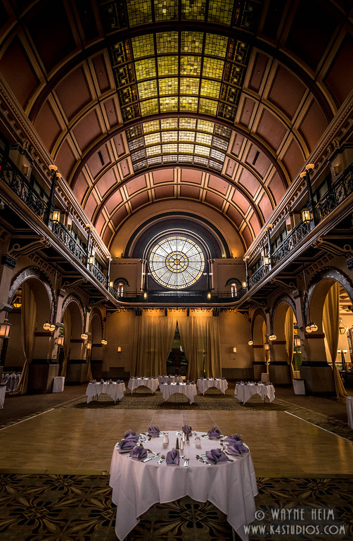 Crowne Ballroom -- Photography by Wayne Heim