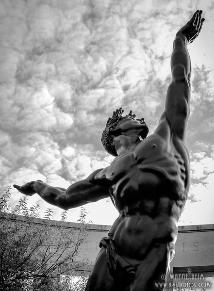 Praise the Unknown  Black and White Photography by Wayne Heim
