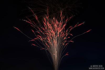 Fireworks Sparkler - Photography by Wayne AHeim