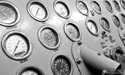 Dials    Black & White Photography by Wayne Heim