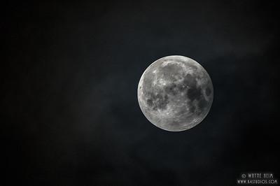 Beautiful Moon   Photography by Wayne Heim
