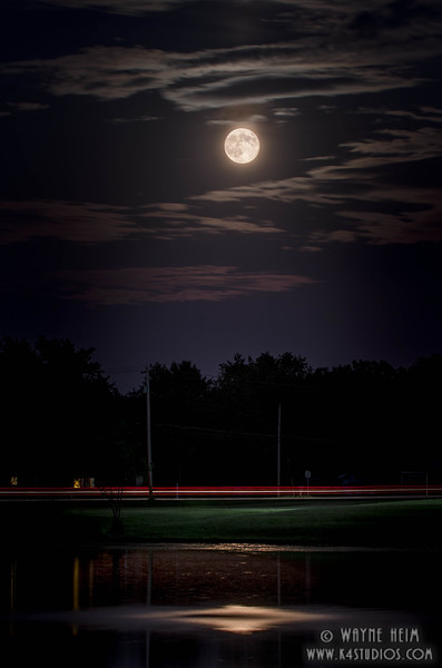 Moon Over Water   Photography by Wayne Heim