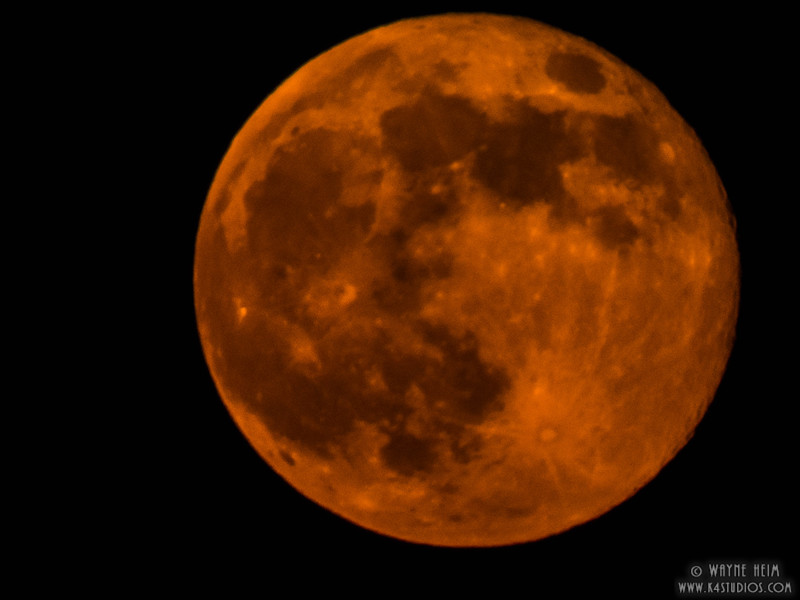 Red Moon   Photography by Wayne Heim