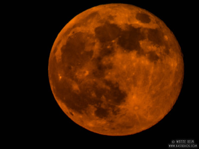 Red Moon   Photography by Wayne Heim
