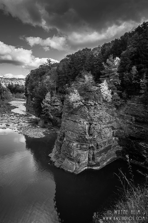Around the Bend. Black and White Photography by Wayne Heim